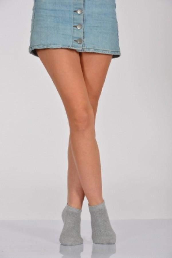 Toptan Lüx Patik Çorap 12 Adet Cotton