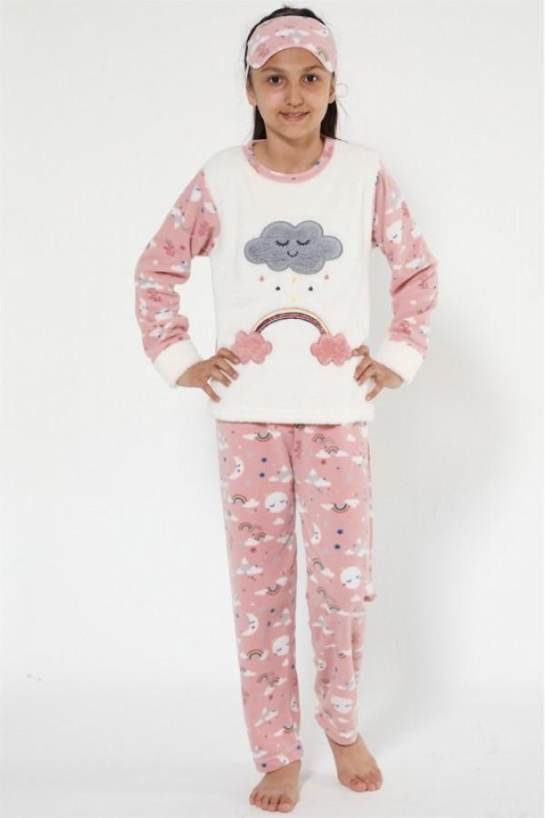 Toptan Çocuk Polar Pijama Takımı